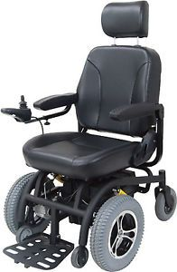 """Drive Medical Trident Power Chair Front Wheel Electric Wheelchair 18"""" Seat"""