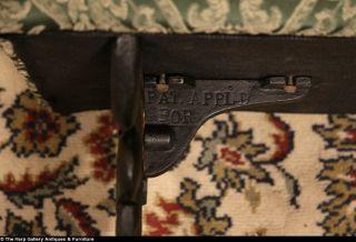 Art Deco 1920's Antique Cast Iron Bench
