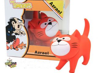 Hot Toys Original New Cute Classic Smurfs Figures Azrael Cat Toys Kids Doll Gift