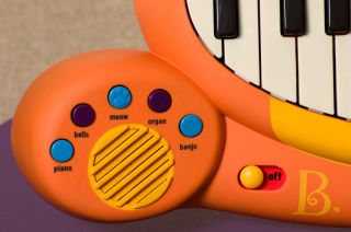 Kids Toy Piano Cat Keyboard Working Musical Instrument Microphone Song Book
