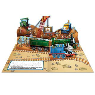 New Thomas The Tank Engine Steam Engine Celebration Pop Up Sound Book 3D Fun