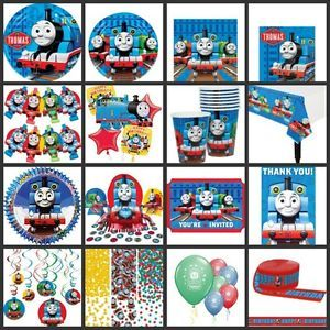 Thomas Tank Engine Birthday Party Supplies You Pick Set Kit Favors Plates Cup