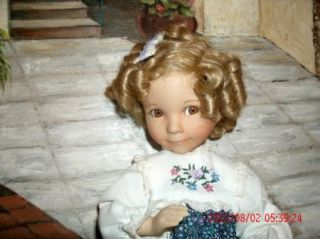 Dianna Effner Signed Shirley Temple Doll 466E 15""