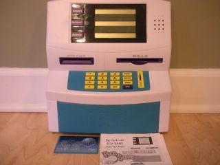 Fun 2 Save Electronic ATM Bank Machine Blue Hat Kids Childrens Toys Blue Hat