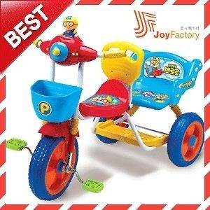 Toy for Kids Pororo Bike Bicycle Two Seater