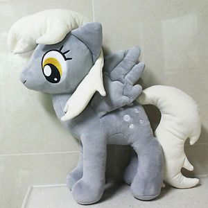 """My Little Pony Friendship Is Magic Derpy Hooves Plush Doll Toy 16 5"""" Kids Gift"""