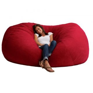XXL Bean Bag Sofa Chair Loveseat Red Sack Fuf Oversized Bedroom Dorm TV Xbox Fun