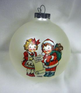 1990 Campbells Soup Collector Christmas Ornament