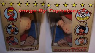 Howdy Doody Fingertronic Face Hand Puppet Toy Vintage
