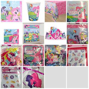 My Little Pony Friendship Party Supply Favors Pick 1 or Create Set