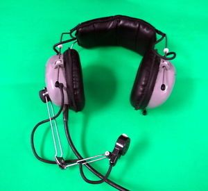 Joyce Teletronics Aviation Headset Microphone P N JTHM 57 Ha Military Spec