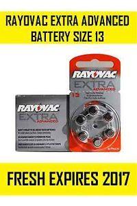 rayovac extra advanced 13