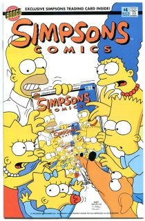 Simpsons Comics 4 NM Simpsons Homer Lisa Bongo 1993 Marge More in Store