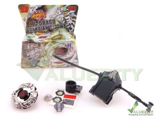 Rapidity 4D Metal Fusion Beyblade BB121B L Drago Guardian Launcher Set
