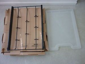 IKEA Komplement 701 181 57 Closet Plastic Tray and Wire Hooks Hanging System Par