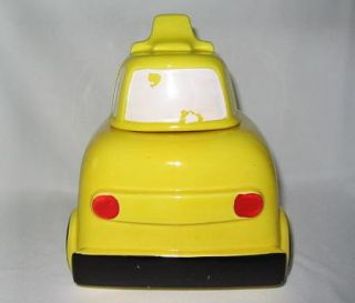 Cookie Jar Vintage Yellow School Bus USA