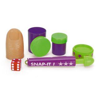 New 10pc Kids Childrens Magicians Magic Tricks Box Game Kids Fun Games Set