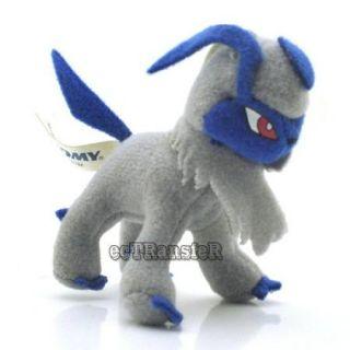 "3"" Absol Pokemon Cute RARE Soft Plush Toy Doll PC1847"