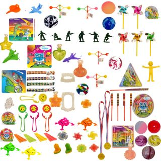 50 Unisex Pinata Party Bag Fillers Mini Toys Birthday Fete Kids Loot Boys Girls