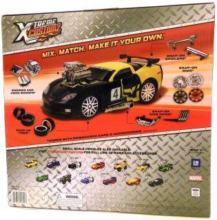 Ridemakerz Large Corvette Xtreme Customz Build Your Ride Custom Car Yellow New