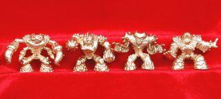 Gormiti Giochi Figures Golden Series Christmas Gift 20