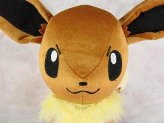 "RARE Large Pokemon 13"" Eevee Plush Toy Doll New PB22"