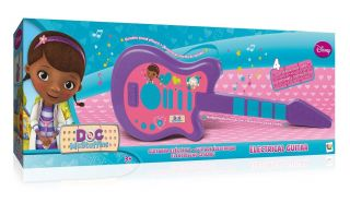 Disney Doc McStuffins Childrens Kids Electric Percussion Sound Music Guitar Toy