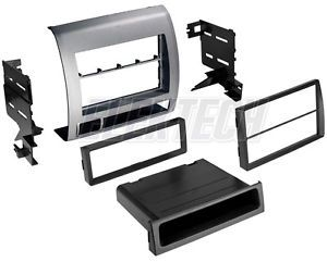 Toyota Tacoma 2005 2011 Radio Dash Install Kit Double DIN Pocket Factory Color