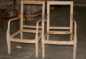 Ethan Allen Solid Hardwood Chair Made It Italy in 1999 RN 48864 Lot of 2 New
