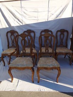 6 Ethan Allen Chateau Normandy Country French Legacy Maple Dining Room Chair Set