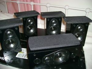Energy Take Classic 5 Speaker Surround Sound Home Theater System