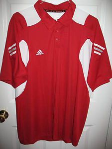 New Adidas Clima Cool Scorch High Performance Mens Golf Polo Shirt XXL 2XL