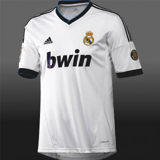 Real Madrid Official 2012 13 Adidas Home Shirt New BNWT Camiseta Jersey 12 13