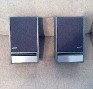 Bose Model 141 Home Audio Bookshelf Speakers