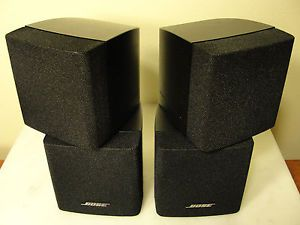 Pair Bose Acoustimass Lifestyle Surround Sound Home Theater Double Cube Speakers