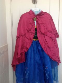 Disney Frozen Anna Gown Costume Size 10 New