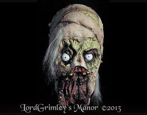 Distortions Mummy Halloween Mask Prop Horror Monster Latex