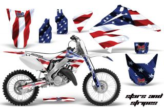 AMR Racing Dirt Bike Motocross Sticker Decal MX Kit Honda CR 125 250 R 02 12 SS