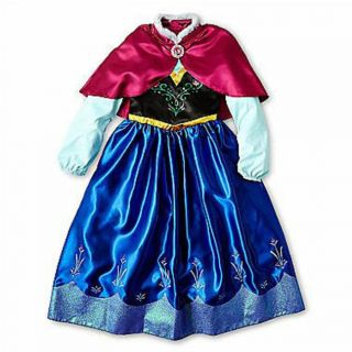 New Disney Frozen Princess Anna Costume Size L 10 Free Shipping