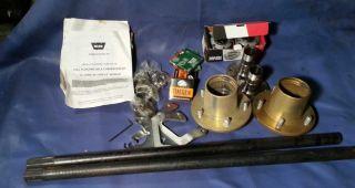 Warn Full Floating Floater Axle Kit Hubs D44 Dana 44 Hubs Brakes Bearings