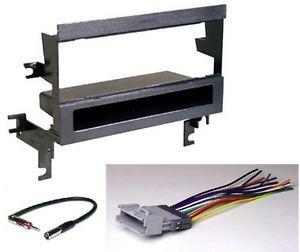 Chevrolet Prizm Radio Installation Dash Kit Harness Antenna PKG231