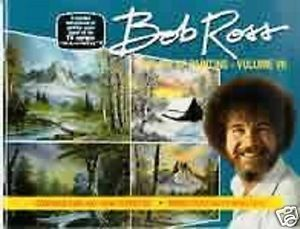 "Bob Ross ""Joy of Painting"" Instructional Book Volume 7"