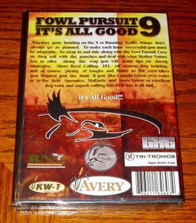 Fowl Pursuit 9 Shawn Stahl GOOSE Hunting Instructional Video DVD New