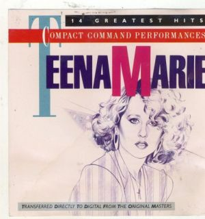 Teena Marie Compact Command Performances 14 Greatest Hits CD
