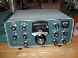 Vintage Heathkit SB 101 Transceiver Ham Radio PS 23 AC Power Supply