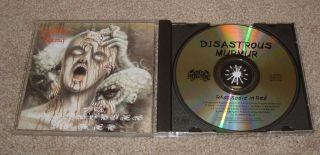 Disastrous Murmur Rhapsodies in Red CD Pungent Stench Autopsy Obituary Gorguts