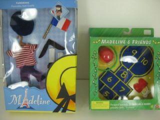 Lot of Madeline Dollhouse Dolls Clothes Accessories New Hop Scotch Parisienne