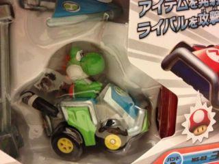Japan Mario Kart 7 Choroq vs Mini Remote Control Car Yoshi