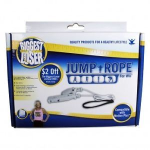 The Biggest Loser Jump Rope for Wii Exercise Weight Loss Rope New