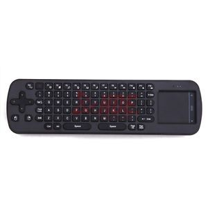 RC12 Wireless Air Fly Mouse Keyboard Remote Control Mini PC Android TV Box Media